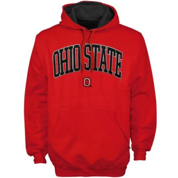 Ohio State Buckeyes Arch Logo Pullover Hoodie - Scarlet