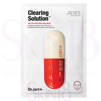 Dr. Jart+ Dermask Micro Jet Clearing Solution™ (White/Red)