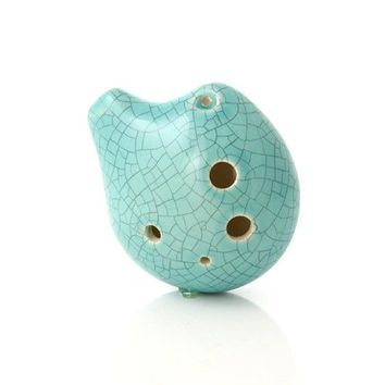 Seedpod Ocarina in Alto C Jade Crackle