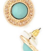 Merry-Go-Round Earrings | Mod Retro Vintage Earrings | ModCloth.com