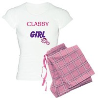 Floral Classy Girl Pajamas> Floral Classy Girl> cuteness