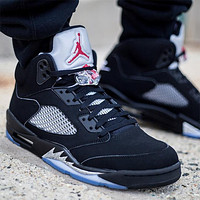 Air Jordan 5 Retro Black Metallic AJ5 Sneakers - Best Deal Online