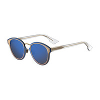 Dior DiorNightfall Square Mirrored Sunglasses