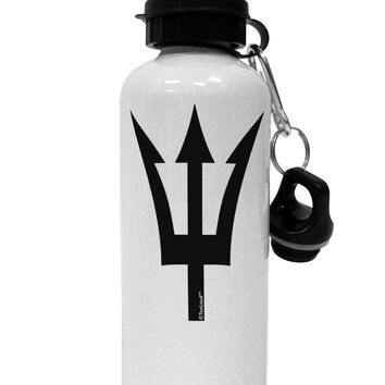 Trident of Poseidon Aluminum 600ml Water Bottle by TooLoud