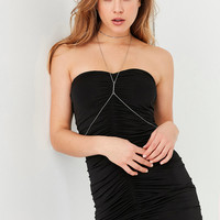 Silence + Noise Oksana Strapless Ruched Mini Dress | Urban Outfitters