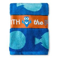 Finding Dory Bath Towel Blue & White - Disney® : Target