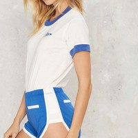 CAMP Collection Roller Girl Contrast Shorts