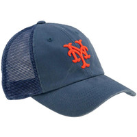 New York Mets - Logo Raglan Bones Adjustable Baseball Cap