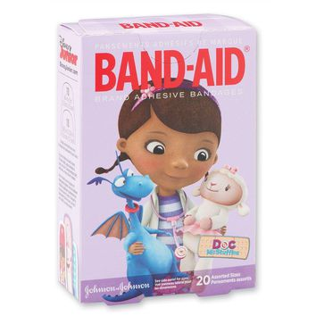 Band-Aid® Doc McStuffins Bandages - First Aid Kit Supplies - 20 per Pack