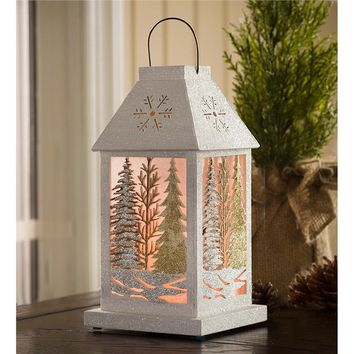 Lighted Winter Wonderland Lantern | Holiday Lighting