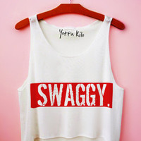 Swaggy Crop Tank Top