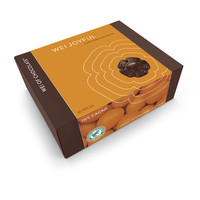 Wei Joyful Citrus Orange Organic Vegan Dark Chocolate 70% cacao