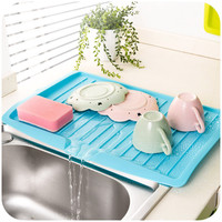 vanzlife Companion dishes sink drain and plastic filter plate storage rack kitchen shelving rack Drain board