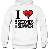 I Love 5 Seconds Of Summer Hoodie