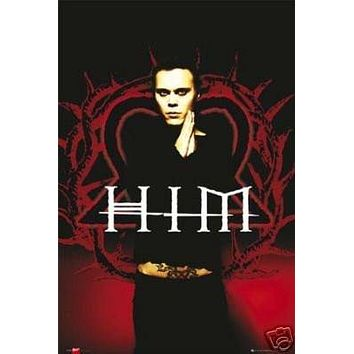 HIM Poster Psychedelic Rare NEW HOT 24x36