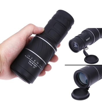 10*40 Dual Focus Zoom Monocular Telescope Handy Sports Camping Hunting Pocket Compact Outdoor Travel Big Eyepiece Binoculars