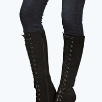 Amy Ghillie Lace Up Over Knee Boot
