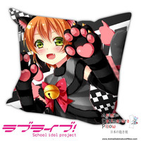 New Rin Hoshizora - Love Live Anime Dakimakura Square Pillow Cover H012