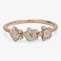 Kataoka Three Diamond Cosmos Ring – ABC Carpet & Home