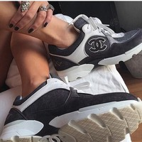 CHANEL  woman Fashion casual shoes