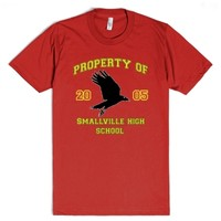 Smallville High - Kent, 8-Unisex Red T-Shirt