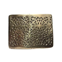 Ottoman Belt Buckle - Antique Brass