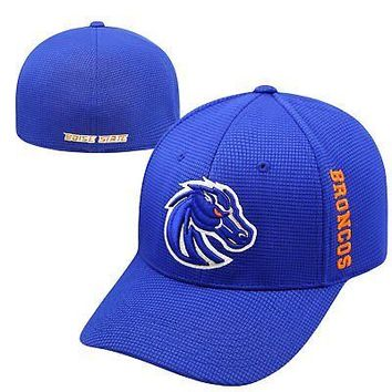 Licensed Boise State Broncos Official NCAA One Fit Booster Plus Hat Cap Top of the World KO_19_1