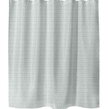 TASSEL NATURAL Shower Curtain By Tiffany Wong