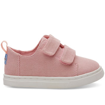 PINK HEMP TINY TOMS LENNY SNEAKERS
