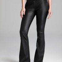 Rachel Zoe Pants - Hutton Pant Stretch Leather Flare | Bloomingdale's