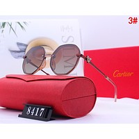 Cartier Newest Stylish Ladies Men Chic Summer Shades Eyeglasses Glasses Sunglasses 3#