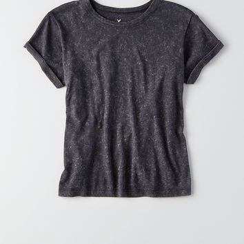 AEO Classic Cotton T-Shirt, True Black
