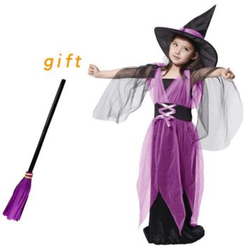 Witch Costumes For Kids Halloween Fancy Dress