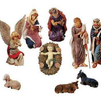 Nativity Christmas Yard Art - 12 Piece Set