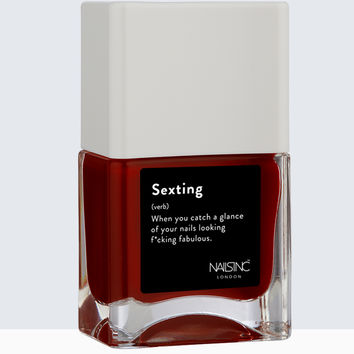 Life Hack Collection - Sexting Nail Polish | Nails inc.US