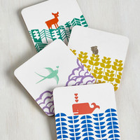 Critters Earth the Wait Coaster Set by ModCloth