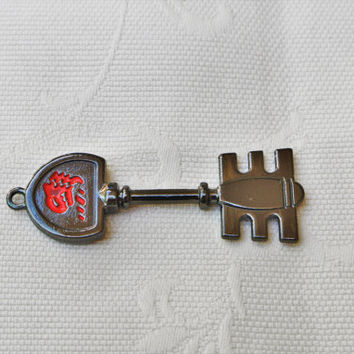 Fairy Tail,Lucy's Key,DragonChainCannon,Celestial Wizard,Gatekey,Lucy Heartfilia,Key Necklace,Manga,Anime,Key Necklace,ZodiacNecklace,Zodiac