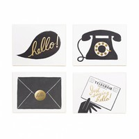 'Hello' Assorted Card Set by RIFLE PAPER Co. | Made in USA