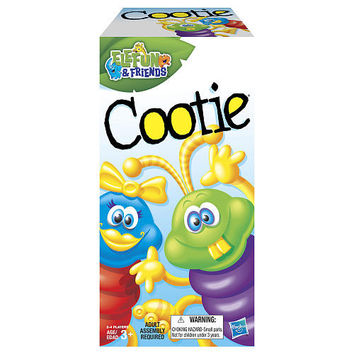 Cootie Board Game