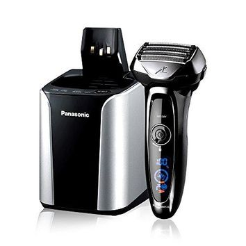 Amazon.com: Panasonic Electric Shaver and Trimmer for Men; ES-LV95-S ARC5; Wet/Dry with 5 Blades and Flexible Pivoting Head; Includes Premium Automatic Clean & Charge Station: Beauty