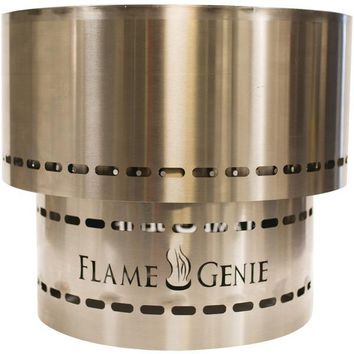 Flamegenie Flame Genie Inferno Wood Pellet Fire Pit (stainless Steel) (pack of 1 Ea)