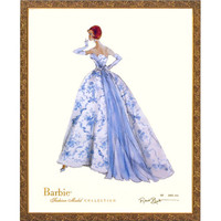 Limited Edition Vintage Provencale Barbie Print
