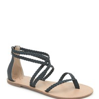 LA Hearts Krista Braid Strappy Sandals - Womens Sandals