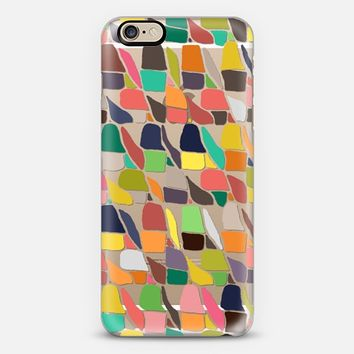 ikat weave transparent iPhone 6s case by Sharon Turner   Casetify