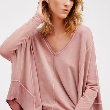 Free People Drippy Extreme Pullover