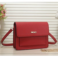 DKNY Women Fashion Leather Crossbody Shoulder Bag Satchel