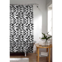 Walmart: Maytex Tiles PEVA Vinyl Shower Curtain