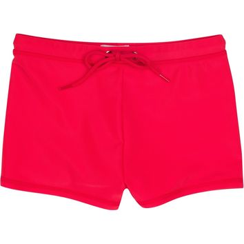 Swim Shorties with SPF 50+ UV Sun Protection (Red and Blue)