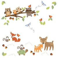 Lambs & Ivy® Woodland Tales Wall Decals