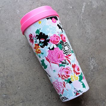 Ban.do - Hot Stuff Thermal Travel Mug in Florabunda